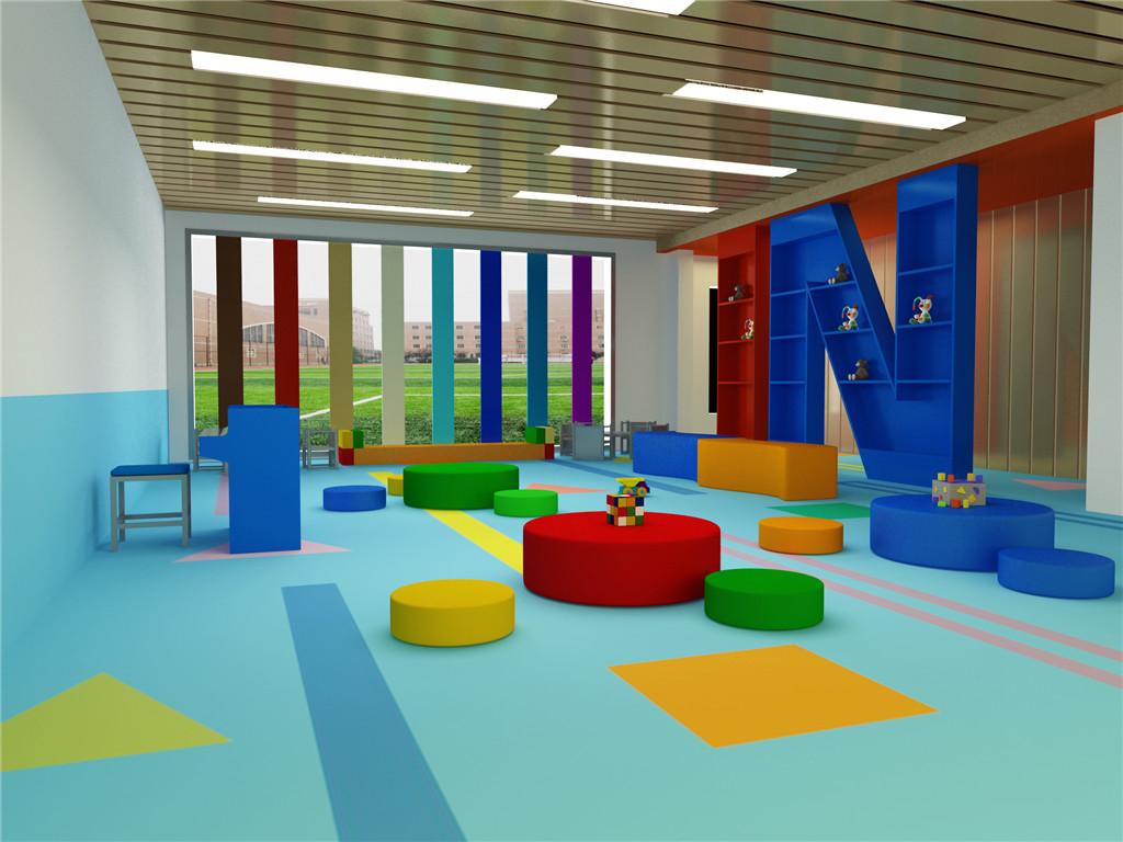 幼儿园地胶,学校塑胶地板,地胶施工