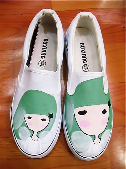 个性手绘鞋:65大元