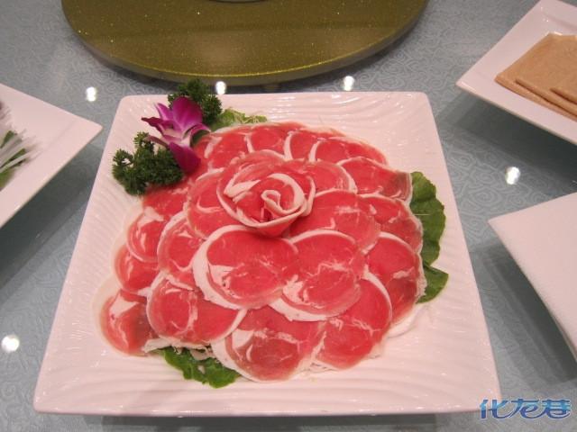 宝贝探店--德天图片火锅,很好吃哦!满载而归肥牛菜品图片