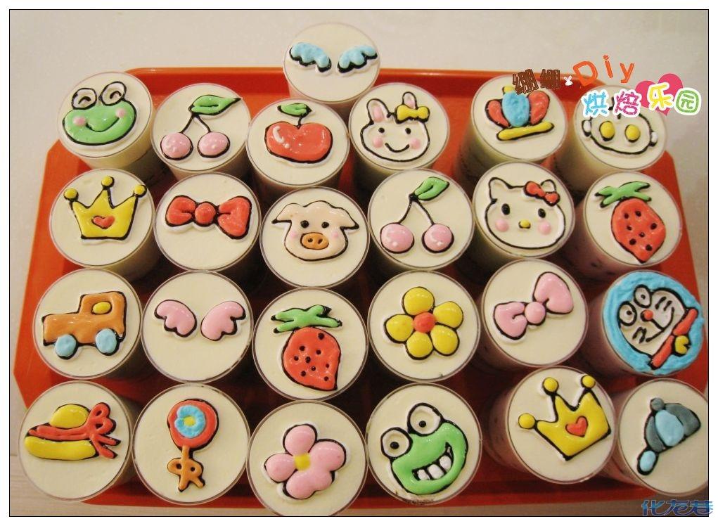 幼儿园蛋糕碟作品