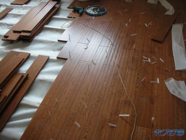 强化复合地板直铺应注意的几个要点