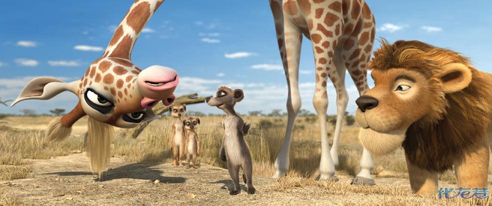 【国内院线首映】德国3d动画片《动物总动员》
