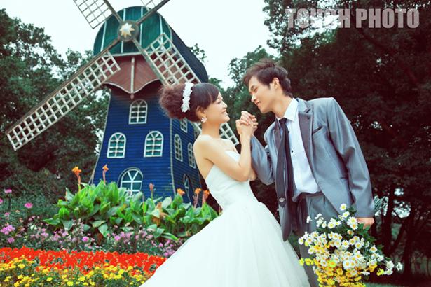 TOUCH 9月婚纱新品发布 金栋 李艳玲 触摸摄影图片