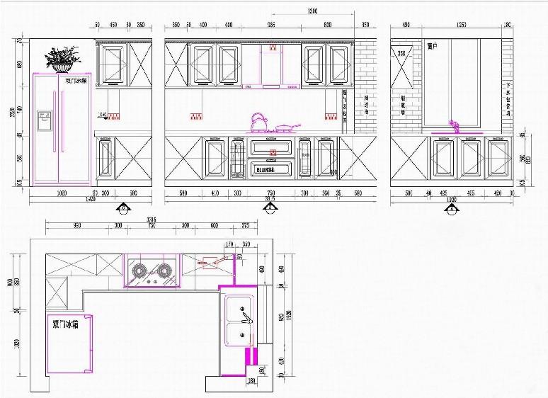 单边走廊设计图