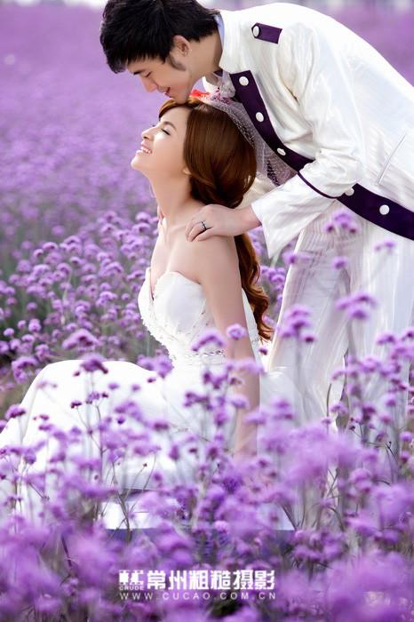 qq頭像女生背影紫色