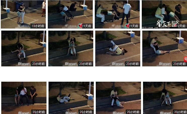 青岛一醉酒女子遭三男子轮番猥亵,监控视频曝