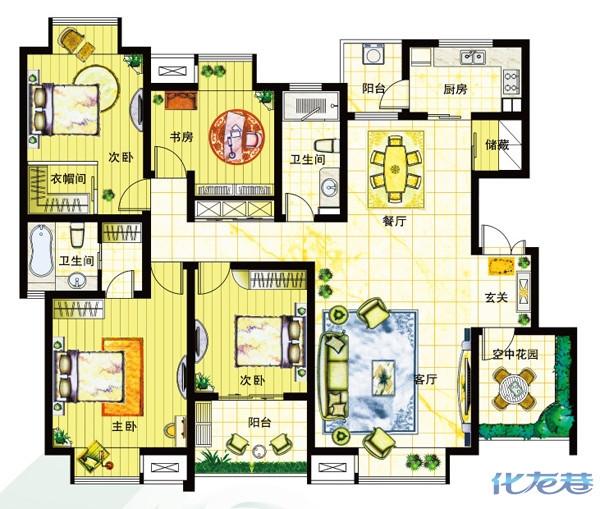 农村房屋设计图大全一层展示
