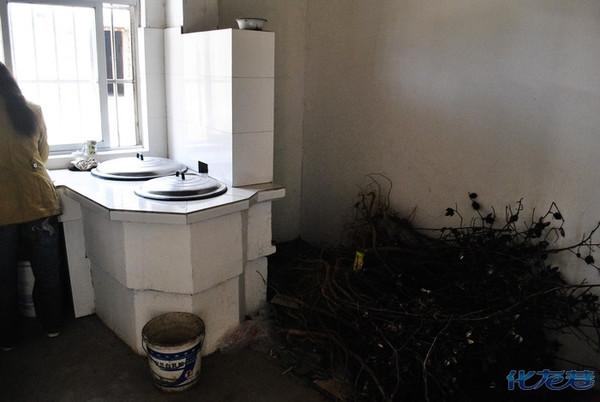 农村厨房装修土灶
