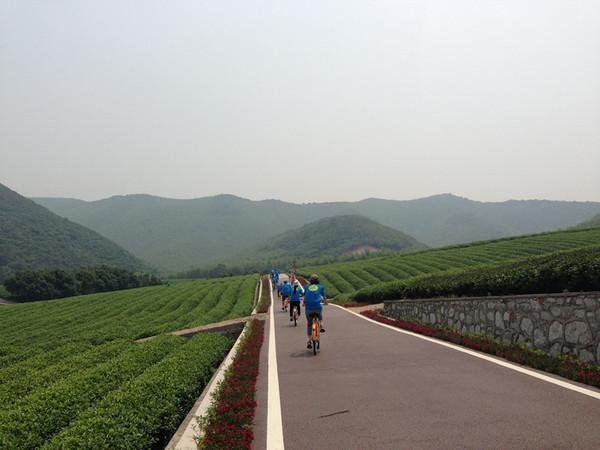 宜兴张渚龙池山自行车公园休闲骑行分享