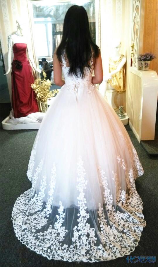 最美婚纱背影大比拼,背影算什么,我们是婚纱 礼服背影,美得无以言