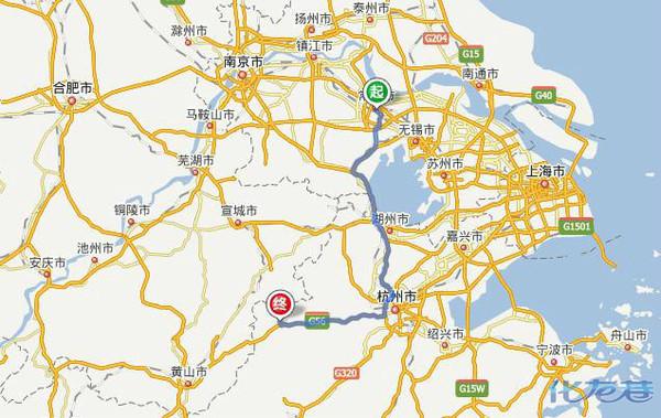 杭州到青岛自驾游几公里
