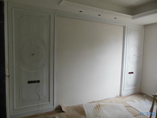 护墙板,电视背景,床背景局部设计图片