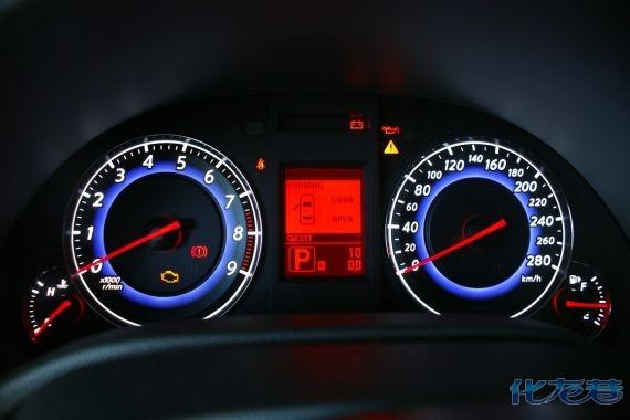 汽车仪表盘常见五种故障指示灯解读.