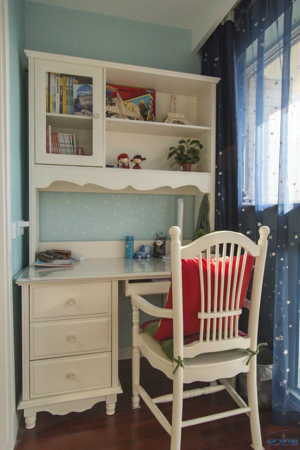阳台改造小书房