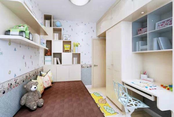 儿童10平米小房间装修