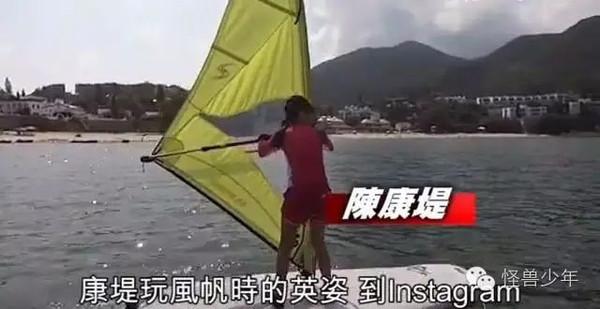 陈奕迅把腿都给了女儿,12岁陈康堤大长腿碾压